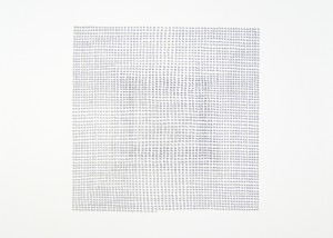 """Image of """"20,589 Days"""" drawing created using graphite on paper"""