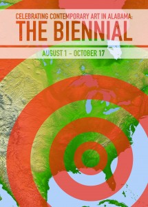 Poster for the 2015 Alabama Biennial