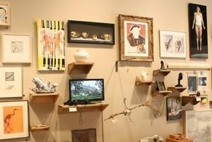 Image of Ossuary exhibition installation